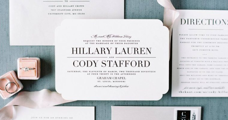Wedding Wednesday: Invitations By Minted