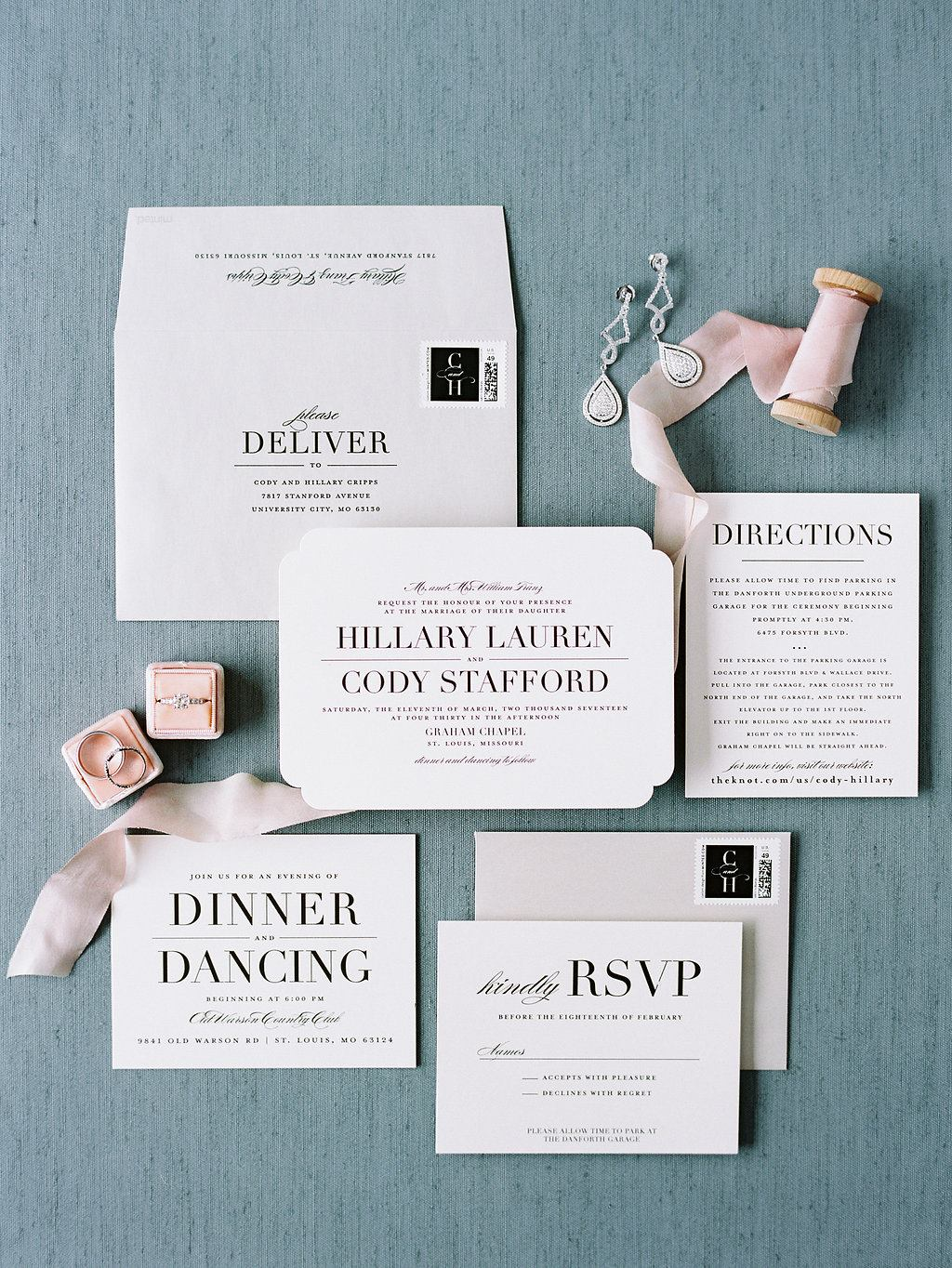 Wedding Wednesday: Invitations By Minted - Shop Hillary Cripps