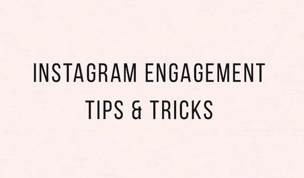 Instagram Engagement Tips & Tricks